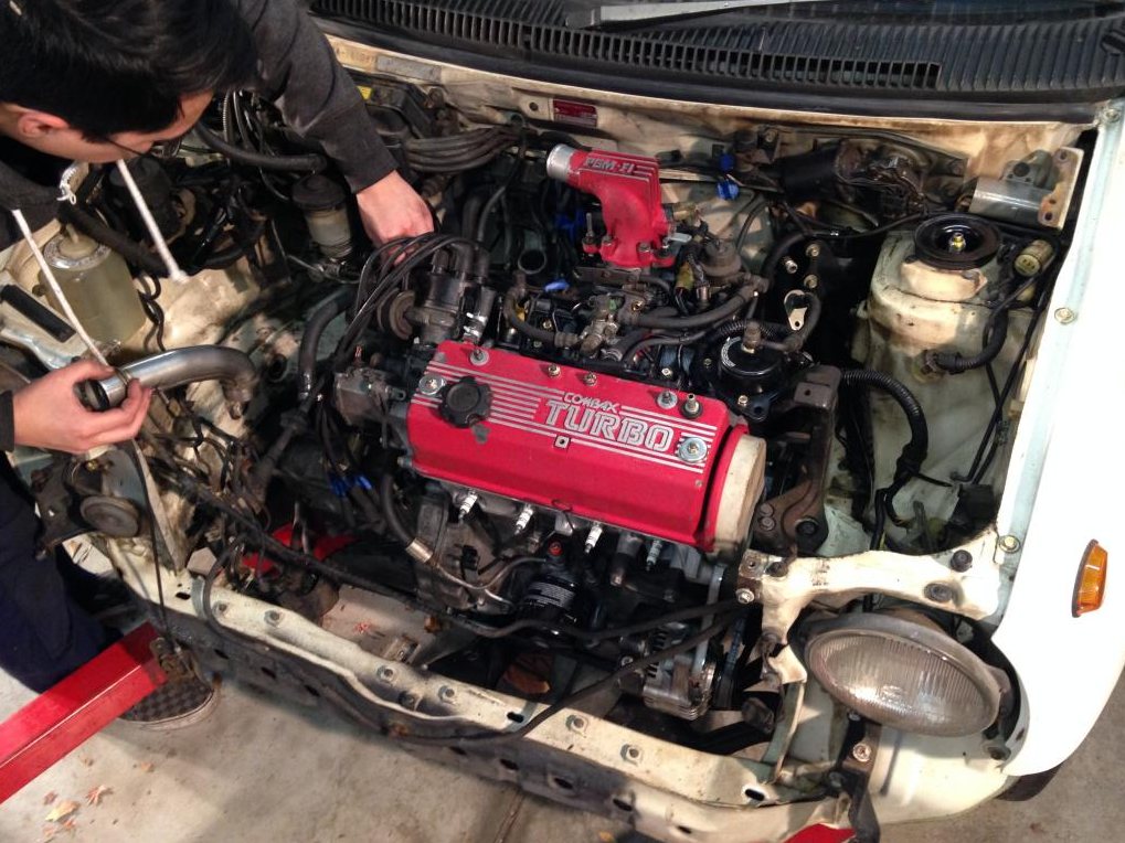 Project Honda City Turbo II – Bringing the engine home