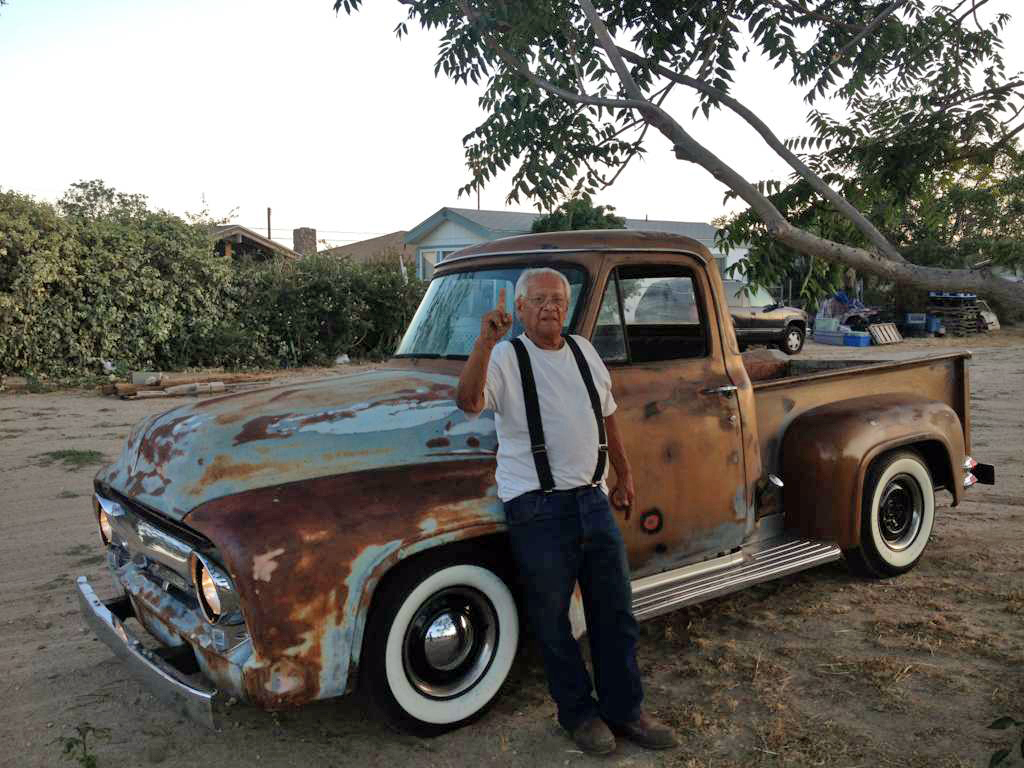 Hot Rod Archeology – 1955 Ford pickup