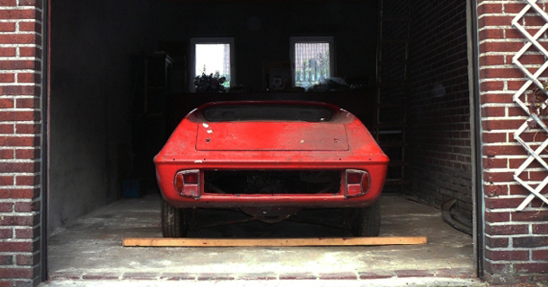 Lotus Europa barn find restoration