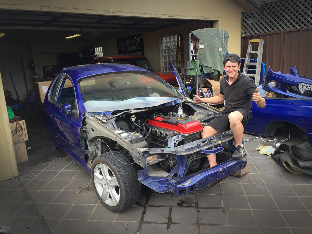 Ford Falcon XR6 Turbo Ute – Part 1