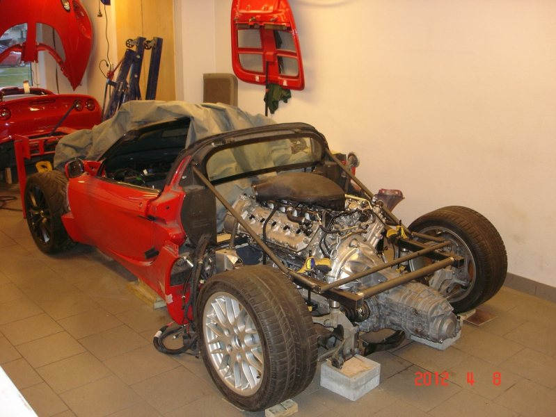 BMW V10 powered Lotus Exige