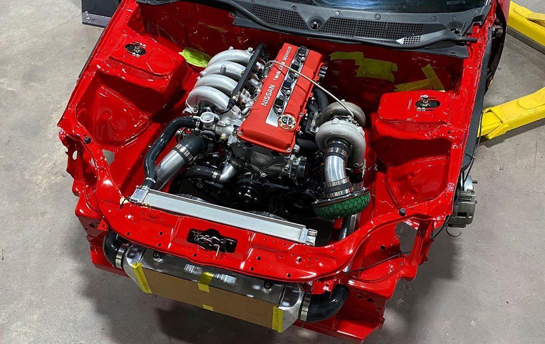 RWD KA24+T EK Civic Coupe